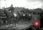 Image of American horse platoon Berlin Germany, 1947, second 32 stock footage video 65675033267