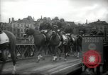 Image of American horse platoon Berlin Germany, 1947, second 33 stock footage video 65675033267