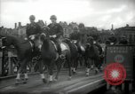Image of American horse platoon Berlin Germany, 1947, second 34 stock footage video 65675033267