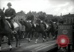 Image of American horse platoon Berlin Germany, 1947, second 35 stock footage video 65675033267