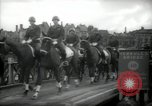 Image of American horse platoon Berlin Germany, 1947, second 36 stock footage video 65675033267