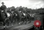 Image of American horse platoon Berlin Germany, 1947, second 37 stock footage video 65675033267