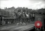 Image of American horse platoon Berlin Germany, 1947, second 42 stock footage video 65675033267