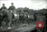 Image of American horse platoon Berlin Germany, 1947, second 43 stock footage video 65675033267