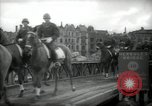 Image of American horse platoon Berlin Germany, 1947, second 44 stock footage video 65675033267