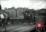 Image of American horse platoon Berlin Germany, 1947, second 45 stock footage video 65675033267