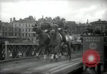 Image of American horse platoon Berlin Germany, 1947, second 46 stock footage video 65675033267