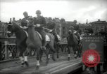 Image of American horse platoon Berlin Germany, 1947, second 47 stock footage video 65675033267