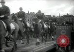 Image of American horse platoon Berlin Germany, 1947, second 48 stock footage video 65675033267