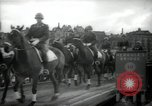 Image of American horse platoon Berlin Germany, 1947, second 49 stock footage video 65675033267