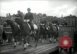 Image of American horse platoon Berlin Germany, 1947, second 50 stock footage video 65675033267