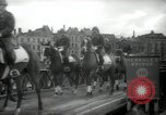Image of American horse platoon Berlin Germany, 1947, second 51 stock footage video 65675033267