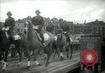 Image of American horse platoon Berlin Germany, 1947, second 52 stock footage video 65675033267