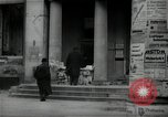 Image of Newsstand in British Sector of Berlin Berlin Germany, 1947, second 3 stock footage video 65675033268