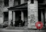 Image of Newsstand in British Sector of Berlin Berlin Germany, 1947, second 11 stock footage video 65675033268