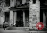 Image of Newsstand in British Sector of Berlin Berlin Germany, 1947, second 15 stock footage video 65675033268