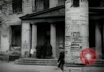 Image of Newsstand in British Sector of Berlin Berlin Germany, 1947, second 17 stock footage video 65675033268