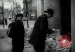 Image of Newsstand in British Sector of Berlin Berlin Germany, 1947, second 37 stock footage video 65675033268