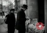Image of Newsstand in British Sector of Berlin Berlin Germany, 1947, second 38 stock footage video 65675033268