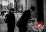 Image of Newsstand in British Sector of Berlin Berlin Germany, 1947, second 39 stock footage video 65675033268