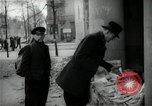 Image of Newsstand in British Sector of Berlin Berlin Germany, 1947, second 40 stock footage video 65675033268