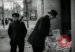 Image of Newsstand in British Sector of Berlin Berlin Germany, 1947, second 41 stock footage video 65675033268