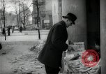 Image of Newsstand in British Sector of Berlin Berlin Germany, 1947, second 43 stock footage video 65675033268