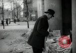 Image of Newsstand in British Sector of Berlin Berlin Germany, 1947, second 44 stock footage video 65675033268