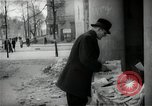 Image of Newsstand in British Sector of Berlin Berlin Germany, 1947, second 45 stock footage video 65675033268