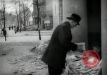Image of Newsstand in British Sector of Berlin Berlin Germany, 1947, second 46 stock footage video 65675033268
