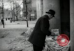 Image of Newsstand in British Sector of Berlin Berlin Germany, 1947, second 47 stock footage video 65675033268