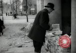 Image of Newsstand in British Sector of Berlin Berlin Germany, 1947, second 53 stock footage video 65675033268