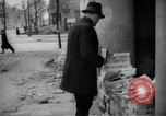 Image of Newsstand in British Sector of Berlin Berlin Germany, 1947, second 55 stock footage video 65675033268