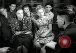 Image of German students after World War 2 Frankfurt Germany, 1946, second 3 stock footage video 65675033270