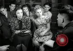 Image of German students after World War 2 Frankfurt Germany, 1946, second 4 stock footage video 65675033270