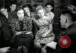 Image of German students after World War 2 Frankfurt Germany, 1946, second 5 stock footage video 65675033270