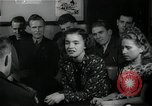Image of German students after World War 2 Frankfurt Germany, 1946, second 25 stock footage video 65675033270