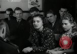 Image of German students after World War 2 Frankfurt Germany, 1946, second 26 stock footage video 65675033270