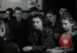 Image of German students after World War 2 Frankfurt Germany, 1946, second 28 stock footage video 65675033270