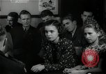 Image of German students after World War 2 Frankfurt Germany, 1946, second 30 stock footage video 65675033270