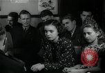 Image of German students after World War 2 Frankfurt Germany, 1946, second 31 stock footage video 65675033270