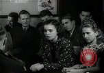 Image of German students after World War 2 Frankfurt Germany, 1946, second 32 stock footage video 65675033270