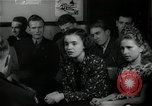 Image of German students after World War 2 Frankfurt Germany, 1946, second 33 stock footage video 65675033270
