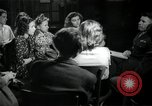 Image of German students after World War 2 Frankfurt Germany, 1946, second 56 stock footage video 65675033270