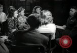 Image of German students after World War 2 Frankfurt Germany, 1946, second 59 stock footage video 65675033270