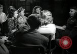 Image of German students after World War 2 Frankfurt Germany, 1946, second 60 stock footage video 65675033270