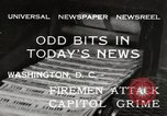 Image of Capitol building Washington DC USA, 1932, second 1 stock footage video 65675033276