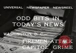 Image of Capitol building Washington DC USA, 1932, second 4 stock footage video 65675033276