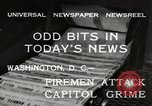 Image of Capitol building Washington DC USA, 1932, second 5 stock footage video 65675033276