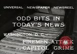 Image of Capitol building Washington DC USA, 1932, second 6 stock footage video 65675033276